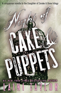 Cake and Puppets book cover pic